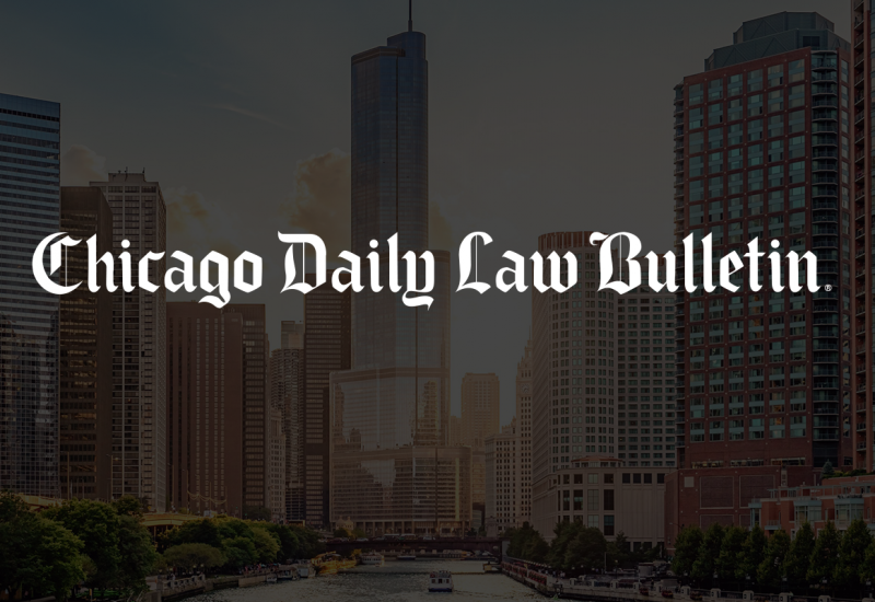 Family Law partner Beth McCormack's Chicago Daily Law Bulletin article – November 2013