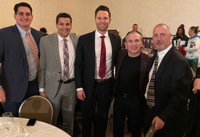"""Beermann lawyers at """"Night at the Fights"""" hosted by the National Italian American Sports Hall of Fame."""