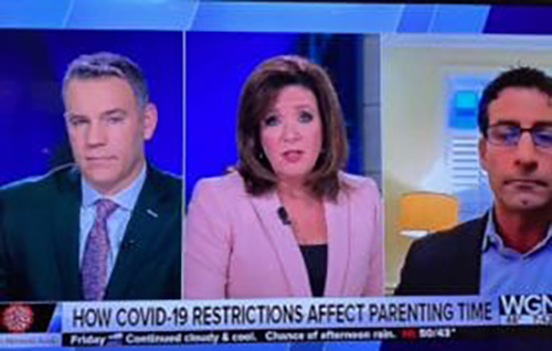 Divorce and Family Law Partner John M. D'Arco Interviewed on WGN Morning News