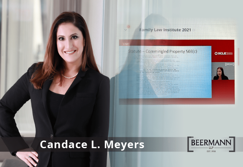 Candace L. Meyers Speaks at the 2021 IICLE® Family Law Institute