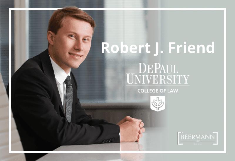 Congratulations, Robert J. Friend!